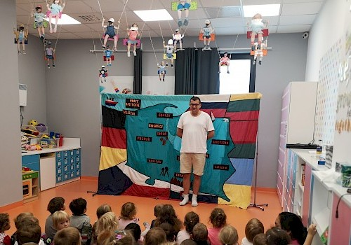 Theatre at the preschool